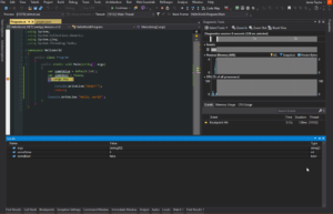 Visual Studio Running With Debugger